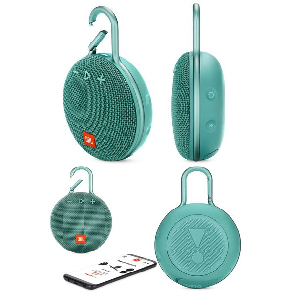 ワイヤレススピーカー JBL CLIP3 防水対応 IPX7 カラビナ付き Bluetooth ワイヤレス スピーカー ジェービーエル ネコポス不可|ec-kitcut|11