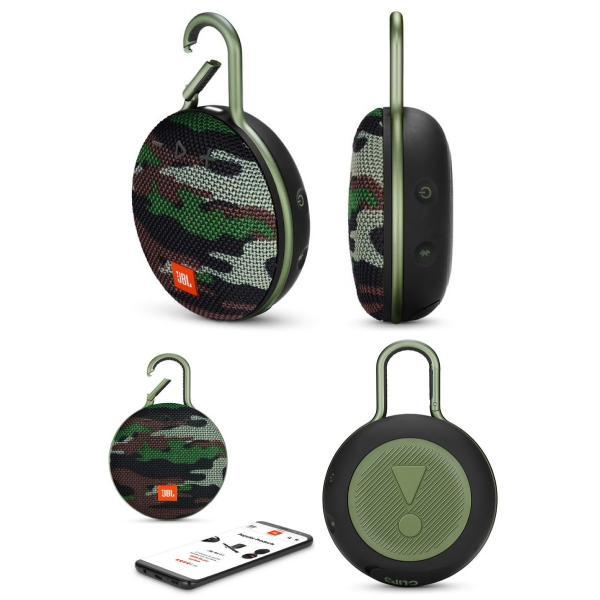 ワイヤレススピーカー JBL CLIP3 防水対応 IPX7 カラビナ付き Bluetooth ワイヤレス スピーカー ジェービーエル ネコポス不可|ec-kitcut|12