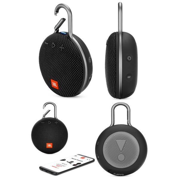 ワイヤレススピーカー JBL CLIP3 防水対応 IPX7 カラビナ付き Bluetooth ワイヤレス スピーカー ジェービーエル ネコポス不可|ec-kitcut|04