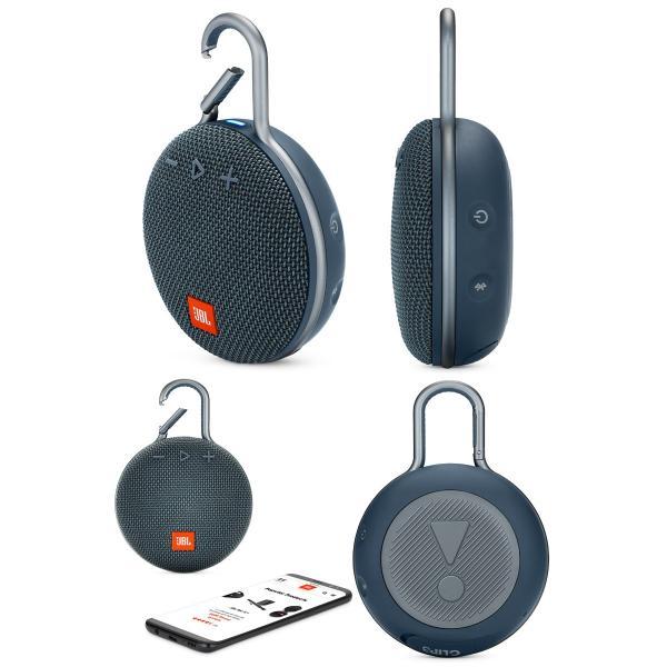 ワイヤレススピーカー JBL CLIP3 防水対応 IPX7 カラビナ付き Bluetooth ワイヤレス スピーカー ジェービーエル ネコポス不可|ec-kitcut|05