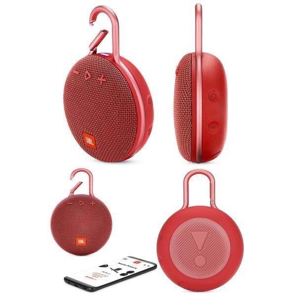 ワイヤレススピーカー JBL CLIP3 防水対応 IPX7 カラビナ付き Bluetooth ワイヤレス スピーカー ジェービーエル ネコポス不可|ec-kitcut|06