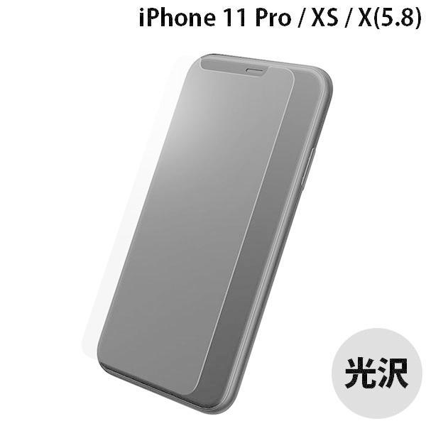 iPhoneXS / iPhoneX ガラスフィルム GRAMAS グラマス iPhone 2018 5.8 Protection Glass Normal 旭ガラスオフセット / ノーマル / 0.33mm ネコポス送料無料|ec-kitcut