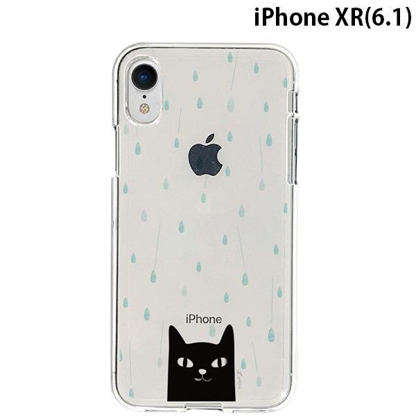 iPhoneXR ケース Dparks ディーパークス iPhone XR ソフトクリアケース 雨の日 DS14815i61 ネコポス可|ec-kitcut