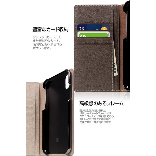 iPhoneXR ケース SLG Design iPhone XR Full Grain Leather Case エスエルジー デザイン ネコポス不可|ec-kitcut|08