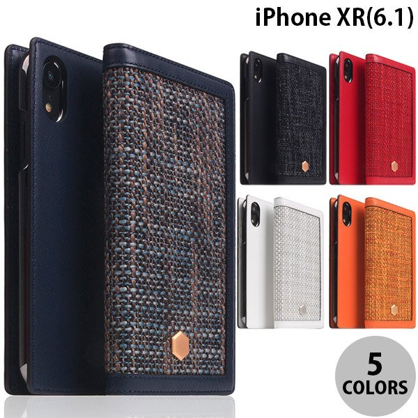 iPhoneXR ケース SLG Design iPhone XR Edition Calf Skin Leather Diary  エスエルジー デザイン ネコポス不可|ec-kitcut