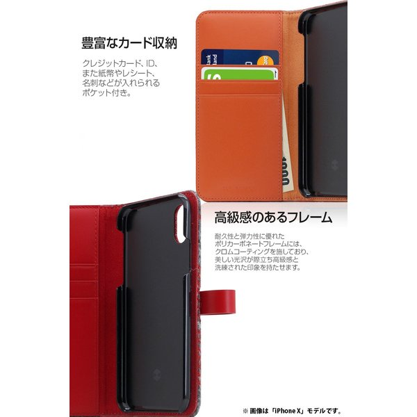 iPhoneXR ケース SLG Design iPhone XR Harris Tweed Diary  エスエルジー デザイン ネコポス不可|ec-kitcut|07