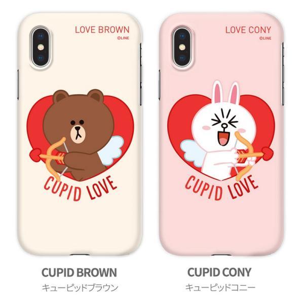 iPhoneXSMax ケース LINE FRIENDS iPhone XS Max SLIM FIT CUPID LOVE  ラインフレンズ ネコポス不可|ec-kitcut|09
