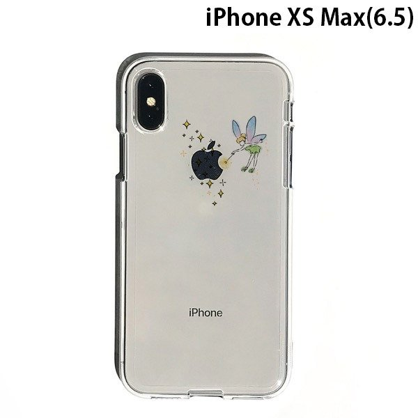 iPhoneXSMax ケース Dparks ディーパークス iPhone XS Max ソフトクリアケース ティンカーベル DS14873i65 ネコポス可 ec-kitcut