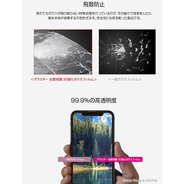 GLASTAR グラスター iPhone 11 Pro Max / XS Max グラスター 全面保護 3D強化ガラスフィルム 光沢 0.33mm GL14269i65 ネコポス送料無料|ec-kitcut|04
