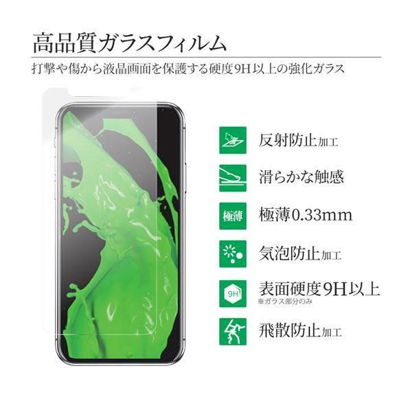 LEPLUS ルプラス iPhone 11 Pro Max / XS Max ガラスフィルム スタンダードサイズ マット・反射防止/0.33mm GLASS PREMIUM FILM LP-IPLFGM ネコポス可|ec-kitcut|03
