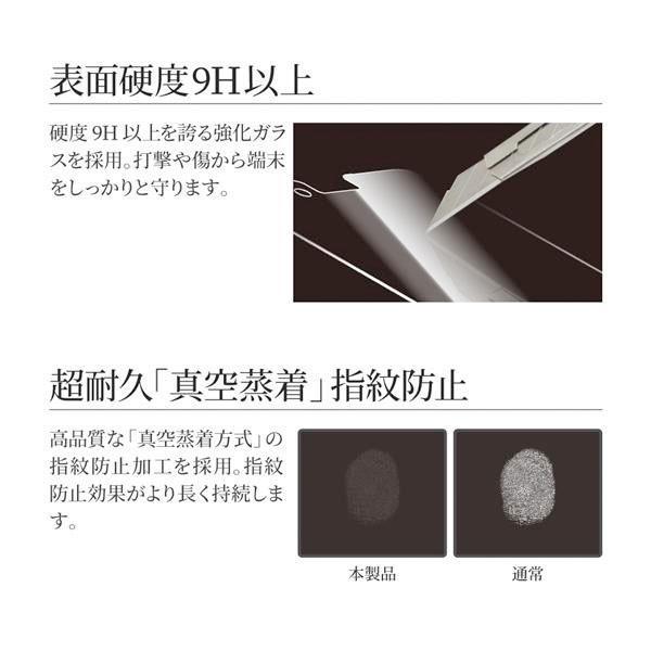 LEPLUS ルプラス iPhone 11 Pro Max / XS Max ガラスフィルム スタンダードサイズ マット・反射防止/0.33mm GLASS PREMIUM FILM LP-IPLFGM ネコポス可|ec-kitcut|04
