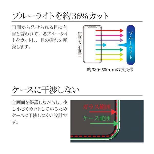 LEPLUS iPhone 11 Pro Max / XS Max ガラスフィルム 覇龍 日本品質 平面 ブラック/高光沢/ブルーライトカット/0.33mm GLASS PREMIUM FILM ネコポス送料無料|ec-kitcut|05