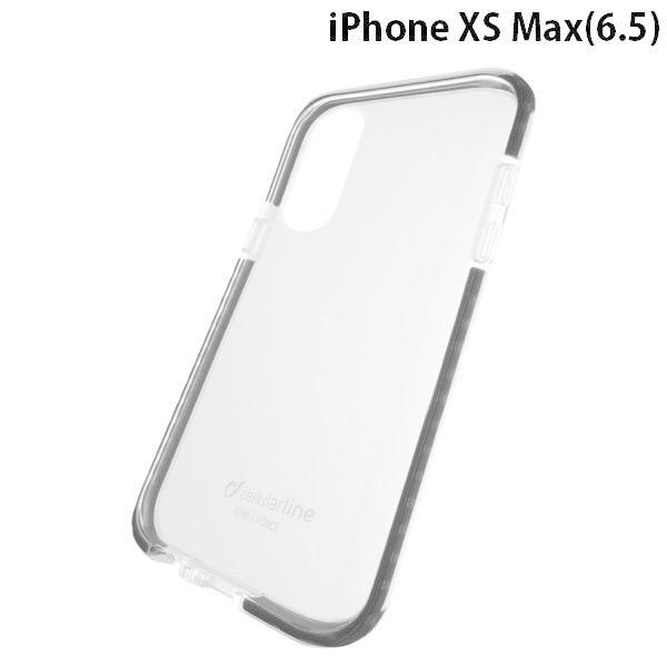 iPhoneXSMax ケース cellularline セルラーライン iPhone XS Max TETRA 耐衝撃ケース ブラック TETRACASEIPHX65K ネコポス可|ec-kitcut