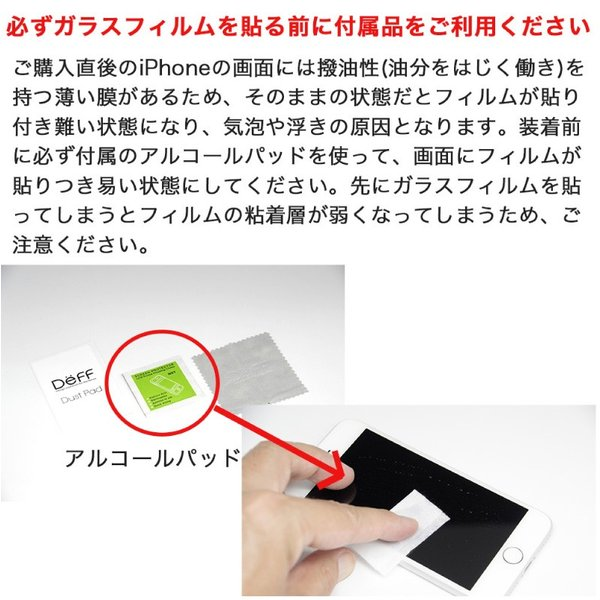 Deff ディーフ iPhone 11 Pro Max / XS Max ガラスフィルム TOUGH GLASS 極薄 0.25mm ブルーライトカット フチなし 透明タイプ DG-IP18LB2F ネコポス送料無料 ec-kitcut 06