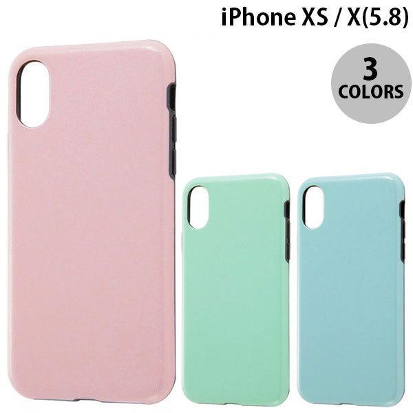 iPhoneXS / iPhoneX ケース Ray Out iPhone XS / X TPU 耐衝撃Light Pastel  レイアウト ネコポス可|ec-kitcut