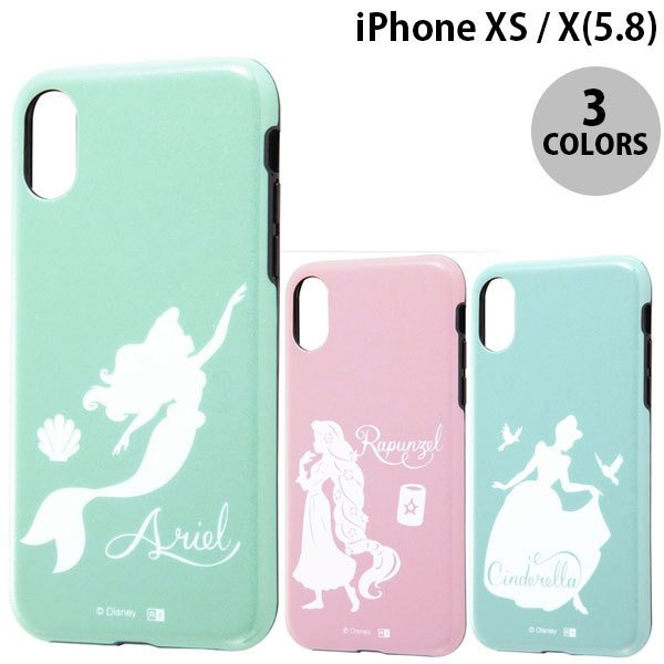 iPhoneXS / iPhoneX ケース Ray Out iPhone XS / X ディズニー TPU 耐衝撃Light Pastel  レイアウト ネコポス送料無料|ec-kitcut