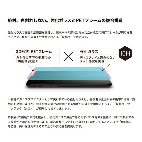 Simplism シンプリズム iPhone 11 Pro / XS / X  FLEX 3D  低摩擦ゼロフリクション ブラック 0.25mm TR-IP18S-G3-ZFCCBK ネコポス送料無料|ec-kitcut|04