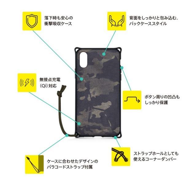 iPhoneXR ケース Simplism シンプリズム iPhone XR  Fablex  衝撃吸収ファブリックケース ブラックカモフラージュ TR-IP18M-FB-CCM ネコポス可|ec-kitcut|06