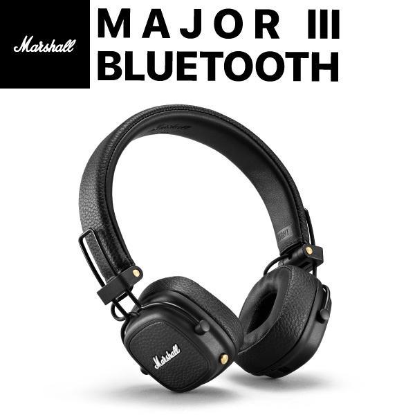 Marshall Headphones マーシャル ヘッドホンズ MAJOR III ワイヤレスヘッドフォン Bluetooth 5.0 Black ZMH-04092186 ネコポス不可|ec-kitcut