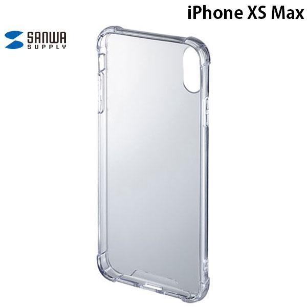 iPhoneXSMax ケース SANWA サンワサプライ iPhone XS Max 耐衝撃ケース PDA-IPH024CL ネコポス可|ec-kitcut