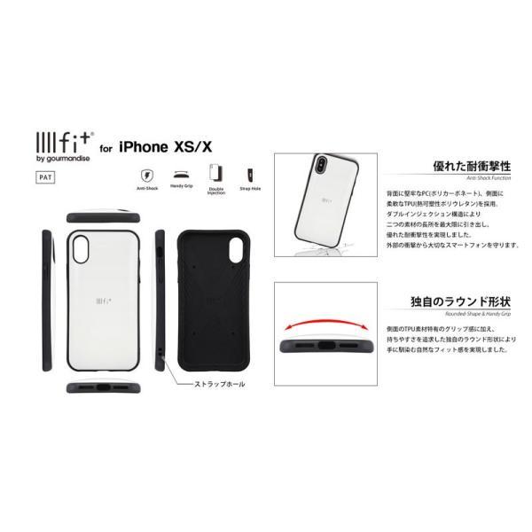 iPhoneXS / iPhoneX ケース gourmandise iPhone XS / X IIIIfi+ イーフィット サンリオ  グルマンディーズ ネコポス送料無料 ec-kitcut 04