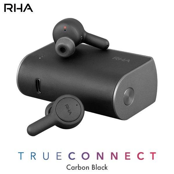 RHA アールエイチエー 完全ワイヤレスイヤホン TrueConnect ブラック TrueConnect