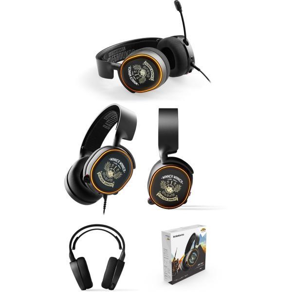 SteelSeries スティールシリーズ Arctis 5 ゲーミングヘッドセット PUBG Edition 61510 ネコポス不可|ec-kitcut|03