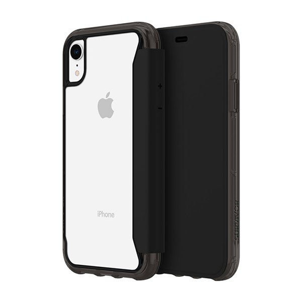 iPhoneXR ケース Griffin Technology グリフィンテクノロジー Survivor Clear Wallet for iPhone XR - Black/Clear GIP-016-BKC ネコポス送料無料|ec-kitcut|02