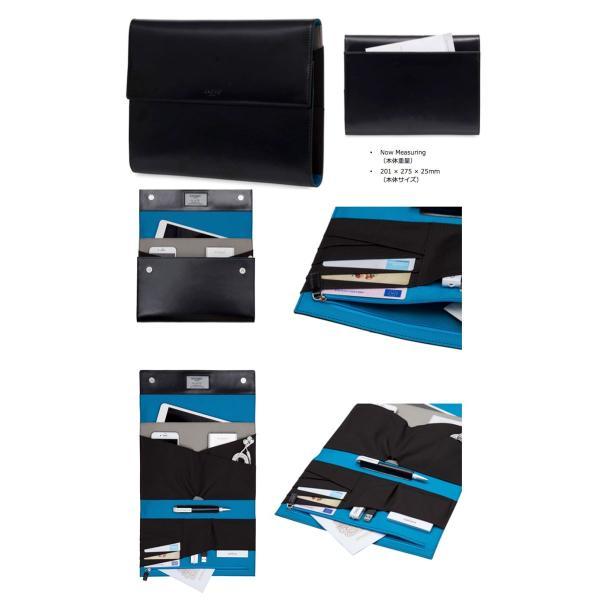 パソコン周辺機器 KNOMO LONDON ノモ ロンドン KNOMAD Air Zip Leather 114-091-BLK ネコポス不可|ec-kitcut|02