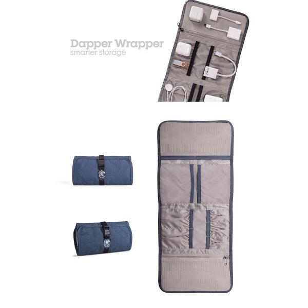 STM Dapper Wrapper アクセサリー 収納ケース   ネコポス送料無料 ケーブル収納|ec-kitcut|04