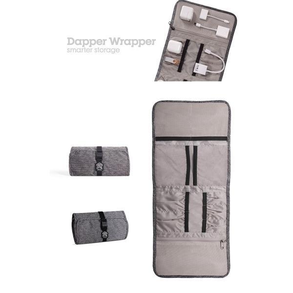 STM Dapper Wrapper アクセサリー 収納ケース   ネコポス送料無料 ケーブル収納|ec-kitcut|05