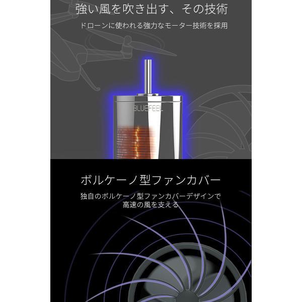 ハンディファン BLUEFEEL PRO 超小型ヘッド ポータブル扇風機 2,200mAh ブルーフィール ネコポス不可|ec-kitcut|06