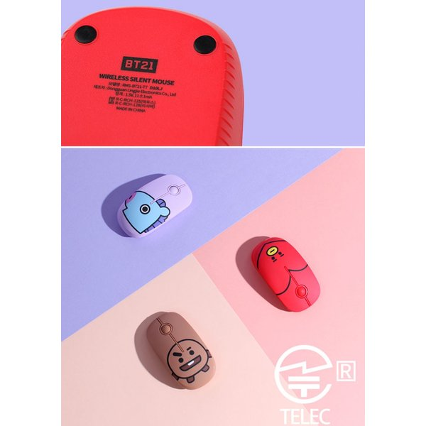 ワイヤレスマウス BT21 無線マウス コンパクトサイズ 2.4GHz  ネコポス不可 ec-kitcut 11