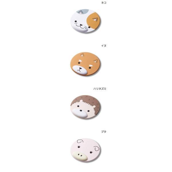 マウスパッド エレコム アニマルマウスパッド MOCHIMAL リストレスト付 ネコポス不可|ec-kitcut|02
