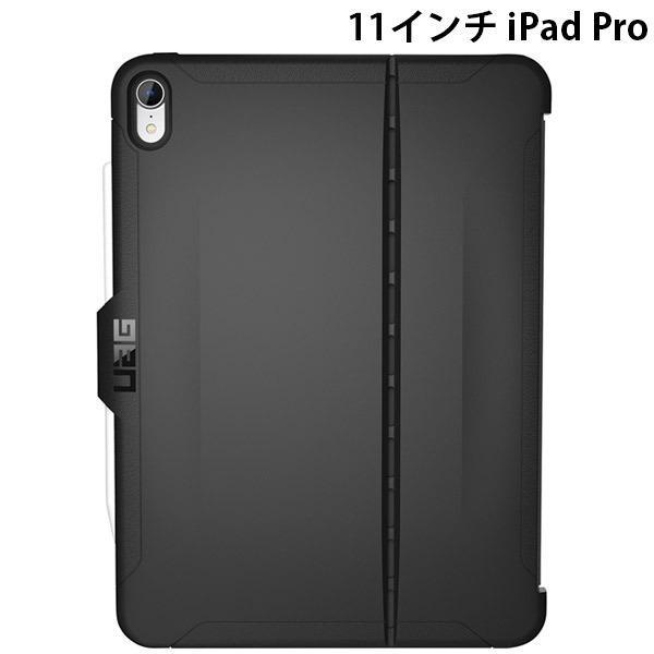iPad Pro 11 ケース UAG ユーエージー 11インチ iPad Pro 第1世代 耐衝撃ケース SCOUTシリーズ UAG-IPDPROMSB-BK ネコポス送料無料
