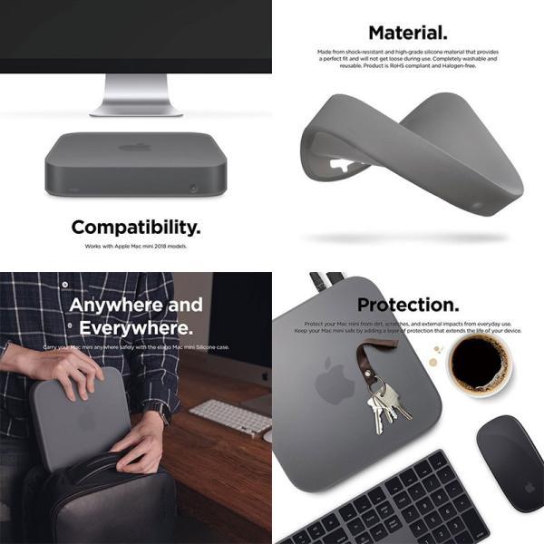 パソコン周辺機器 elago Mac mini 2018 SILICONE CASE エラゴ ネコポス不可|ec-kitcut|03