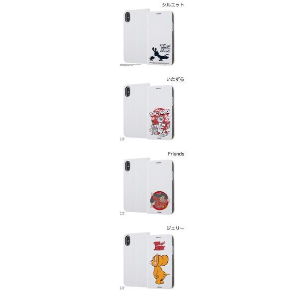 iPhoneXS / iPhoneX ケース ingrem iPhone XS / X トムとジェリー 手帳型ケース マグネットタイプ  イングレム ネコポス送料無料|ec-kitcut|02