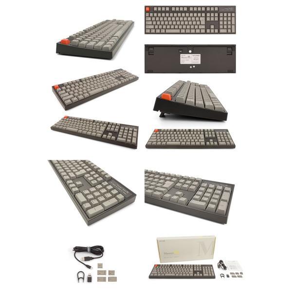 ARCHISS アーキス Maestro FL メカニカル フルサイズ キーボード 日本語配列 108キー CHERRY MX クリア軸 昇華印字 黒/グレイ AS-KBM08/TCGBA ネコポス不可|ec-kitcut|06