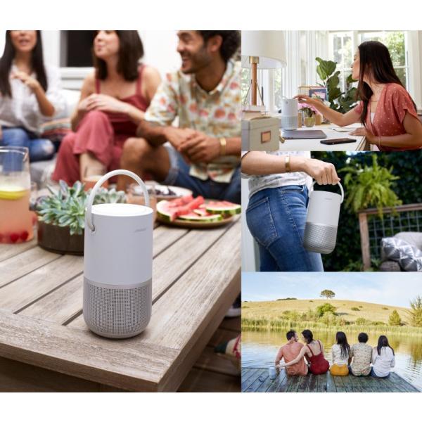 スマートスピーカー BOSE Portable Home Speaker 音声アシスタント対応 IPX4 防滴 Wi-Fi / Bluetooth ワイヤレス スマートスピーカー ボーズ ネコポス不可|ec-kitcut|03