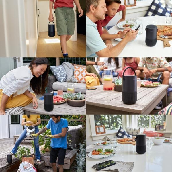 スマートスピーカー BOSE Portable Home Speaker 音声アシスタント対応 IPX4 防滴 Wi-Fi / Bluetooth ワイヤレス スマートスピーカー ボーズ ネコポス不可|ec-kitcut|04