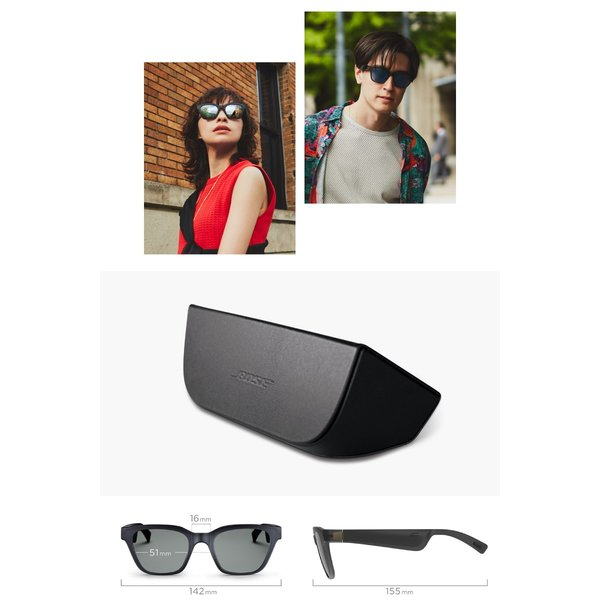 BOSE Frames Alto オーディオサングラス オープンイヤー Bluetooth ワイヤレス ウェアラブル オーディオ サングラス ボーズ ネコポス不可|ec-kitcut|06
