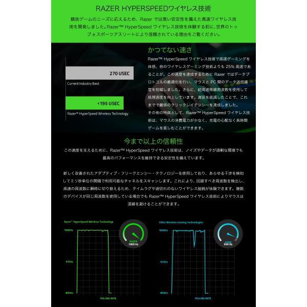 Razer レーザー Viper Ultimate 左右両対応 ワイヤレス ゲーミングマウス RZ01-03050100-R3A1 ネコポス不可|ec-kitcut|03