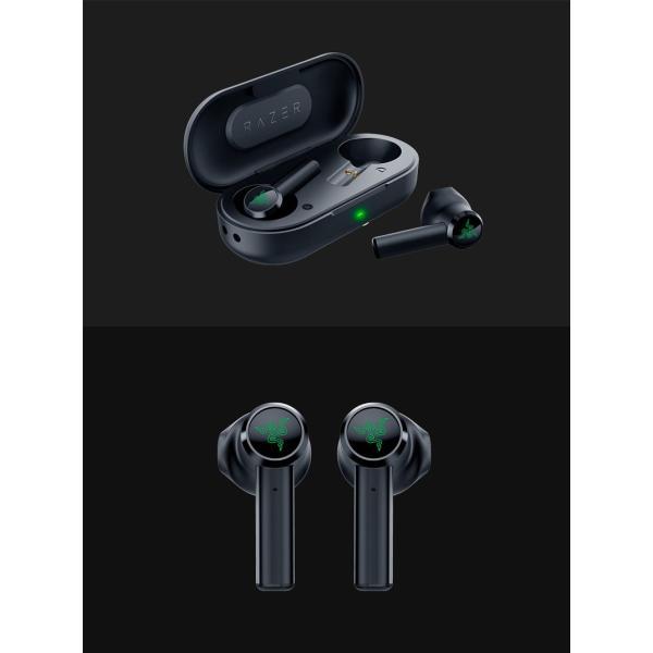 完全ワイヤレス イヤホン 独立 Razer レーザー Hammerhead True Wireless 完全ワイヤレス Bluetooth 5.0 ゲーミングイヤホン RZ12-02970100-R3A1 ネコポス不可|ec-kitcut|06