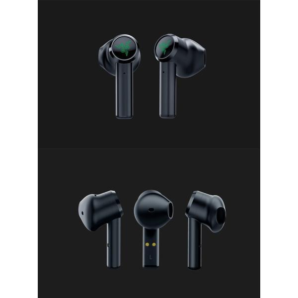 完全ワイヤレス イヤホン 独立 Razer レーザー Hammerhead True Wireless 完全ワイヤレス Bluetooth 5.0 ゲーミングイヤホン RZ12-02970100-R3A1 ネコポス不可|ec-kitcut|07