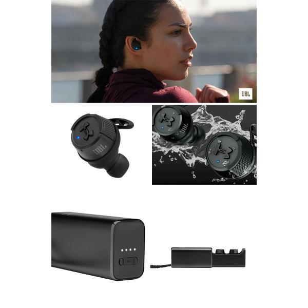 完全ワイヤレス JBL ジェービーエル UA TRUE WIRELESS FLASH X IPX7 完全ワイヤレス Bluetooth 5.0 イヤホン ブラック UAJBLFLASHXBLK ネコポス不可|ec-kitcut|02