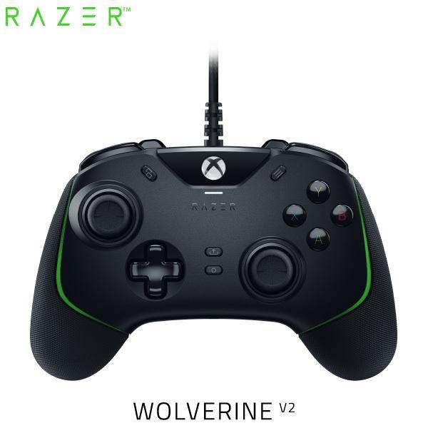 RazerレーザーWolverineV2XboxSeriesX/S/One/PCWindows10対応有線ゲームパッドRZ06-