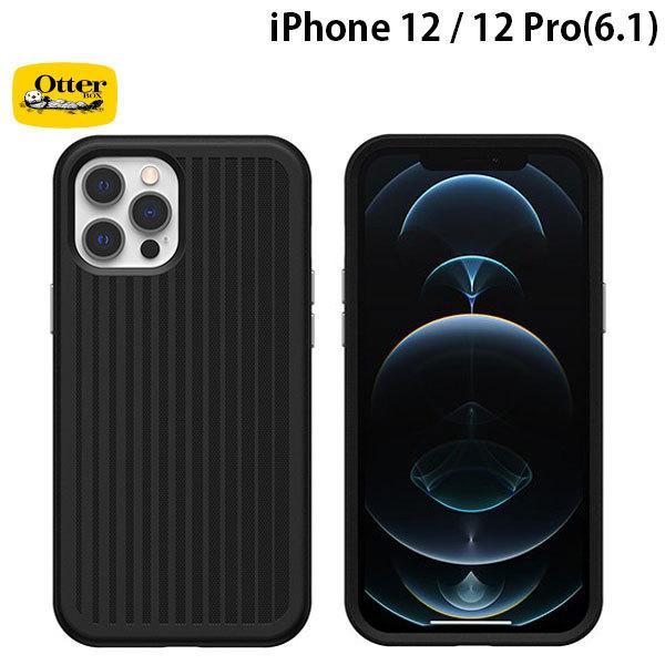 OtterBox オッターボックス iPhone 12 / 12 Pro Easy Grip Gaming 抗菌 耐衝撃ケース Squid Ink Black 77-80673