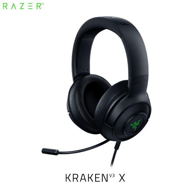 Razer レーザー Kraken V3 X 超軽量 7.1ch サラウンド 対応 USB ゲーミングヘッドセット ブラック RZ04-03750100-R3M1