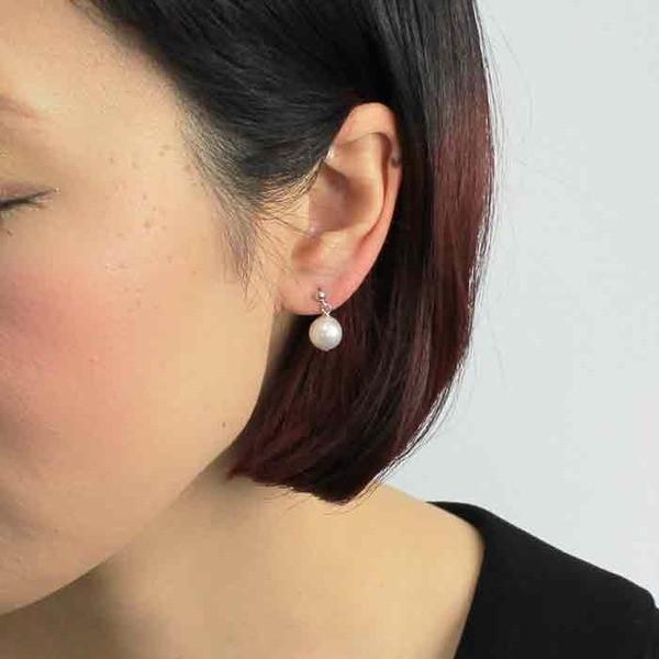 アコヤ本真珠 8.5-9.0mm珠 ネックレス&イヤリング〔代引不可〕
