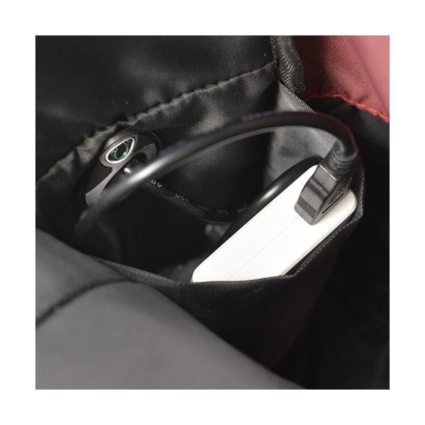 ウノフク BAGGEX ローレルモバイルデイパック ブラック 13-6074-10 1個